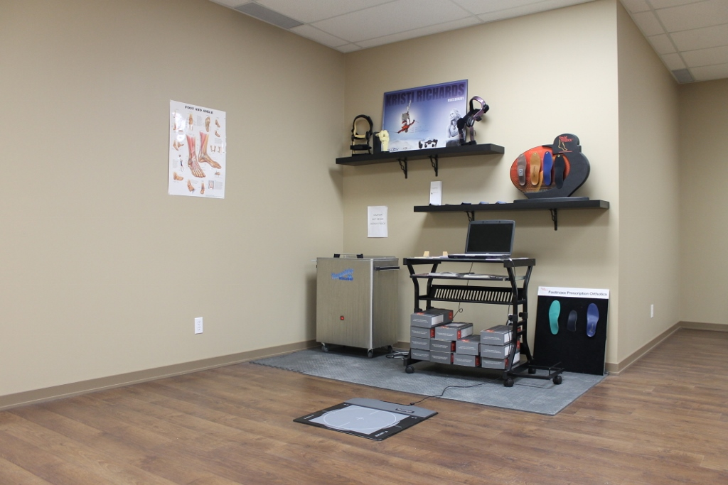 Chiroworks Orthotics Treatment Area