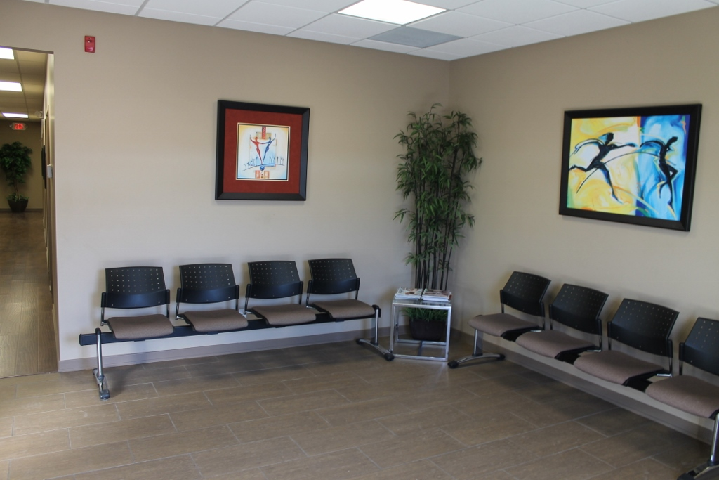 Chiroworks Waiting Room